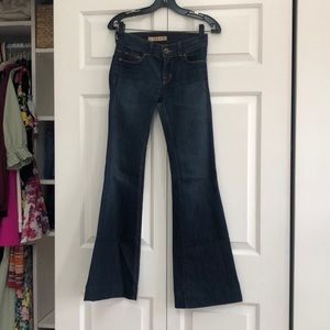 Jbrand size 25 bell bottom flairs